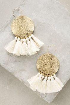 Tamboril Tassel Earrings #Anthropologie