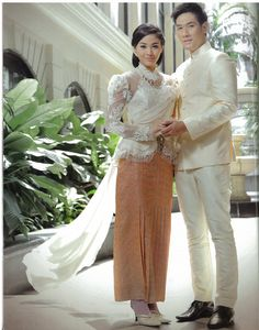 'Classic Love Memory' fashion shoot (Oct 2012) for Bride magazine @ The Sukosol with Khun Pooklook-Fanthip Watcharatrakul, Miss Thailand Universe 2010, Thai model/actress and Om-Akapan Namart, Thai model/actor. Photographed by Akawut Ruangsri.