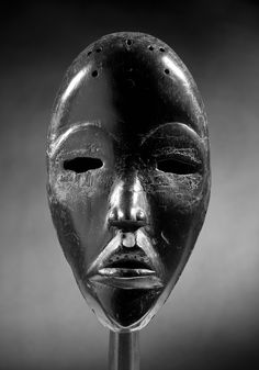 """Dan mask, Ivory Coast - Schoffel Fabry - Exhibition: """"Beyond the Mask""""✖️No Pin Limits✖️More Pins Like This One At FOSTERGINGER @ Pinterest✖️"""
