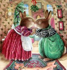 """""""Under the Mistletoe"""" - Susan Wheeler"""