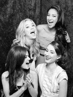 Lucy Hale, Ashley Benson, Shay Mitchell, and Troian Bellisario