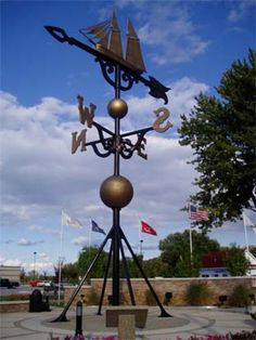 World's Largest Weathervane...my Grandma Anderson was part of this project until the day she passed way.  Miss her!