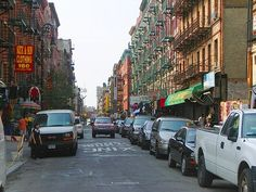 NY Lower Eastside Orchard Street
