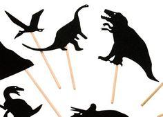 Schattenspiel Figuren 'Dinosaurier'