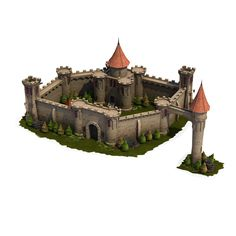 Get started on building your own medieval kingdom quickly with this great new model set by Polygrade! It includes a range of lovingly crafted modular castle com