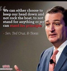 """Report: """"U.S. Sen. Ted Cruz on Saturday said county clerks in Texas should """"absolutely"""" be able to opt out of issuing same-sex marriage licenses if they have religious objections."""" """"Ours is a country that was built by men and women fleeing religious oppression,"""""""