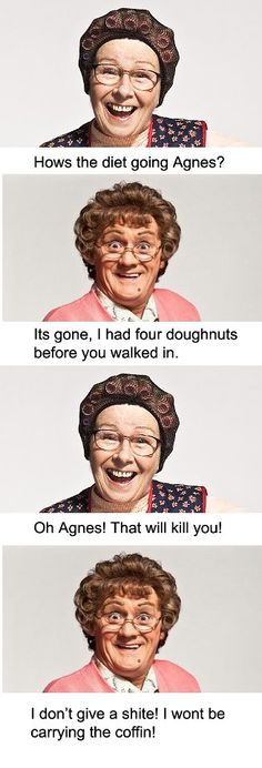 """by far the best line from mrs brown!!! BBC """"Mrs. Brown's boys"""" funniest show ever!"""
