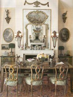 18 Impressive French Living Room Design Ideas | Regency, Living room ...