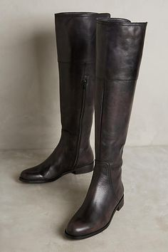 Miss Albright Burnished Riding Boots - anthropologie.com