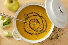 Kürbissuppe mit Fenchel