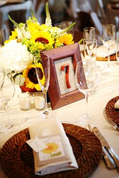 diy framed burlap table numbers ... Jo are you seeing this?!!!!  :) «