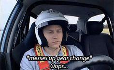 """Oops"" Kimi on Top Gear"