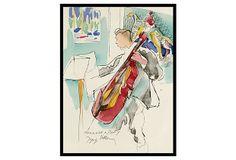 "SOICHER MARIN   Homeage Dufy Drawing on OneKingsLane.com   archival giclee on fine art paper   19"" x 25""   255.00 retail"