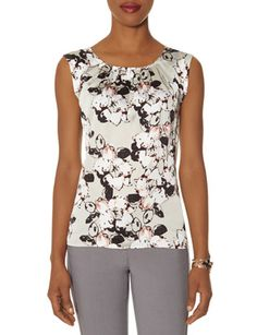 Floral Front Top from THELIMITED.com