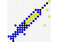 Kralenplank Spuit Pearler Bead Patterns, Pearler Beads, Toddler Busy Bags, Ambulance, Beading Patterns, Cross Stitch Patterns, Kindergarten, Preschool, Kids Rugs