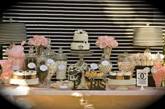 "Photo 10 of 13: Coco Chanel/Parisian / Birthday ""35th Birthday Celebration"" | Catch My Party 45 e verjaardag Coco"