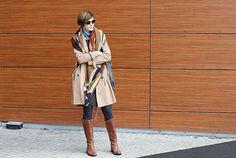 klasyczny płaszcz, trencz, beżowy trencz, klasyk, jesienna stylizacja, jesienny klasyk, stylistka poznań, stylistka, osobista stylistka, jak nosić,