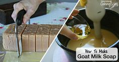 The products we use on our body should be just as safe and clean as the food we put into our bodies. One of the best ways to make sure of this is to make your own bath and body products, and this tutorial will show you how to make goat milk soap. It's easier than you might think!