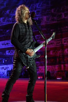 Metallica Kirk Hammett May 29 Gelsenkirchen Germany 2015