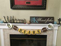 Baylor Bears  Football banner