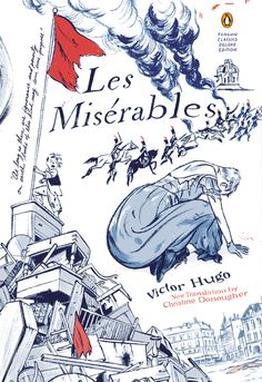 {WANT TO READ} Les Miserables by Victor Hugo // a book 'everyone' has read but me and I love love love the cover!