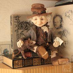 Купить Добрый мистер Луридан ( книжный эльф ) в интернет магазине на Ярмарке Мастеров