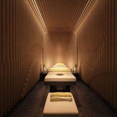 Spa Room Massage Room Design, Massage Room Decor, Massage Therapy Rooms, Spa Room Decor, Spa Interior Design, Design Salon, Spa Design, Spa Hammam, Spa Treatment Room
