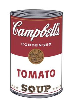 Andy Warhol's Campbell's soup can