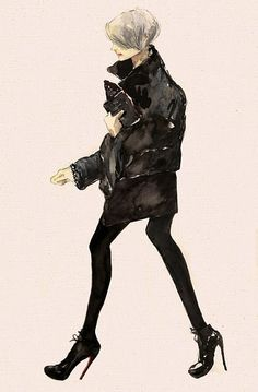 [ Kate Lanphear ] Vita Yang #fashion #illustration