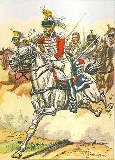 Tromba del 5 rgt. corazzieri francesi nel 1812