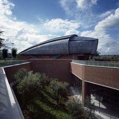 Parco della Musica by Renzo Piano, Rome. Photos by Enrico Cano.