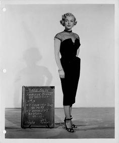Marilyn - costume test