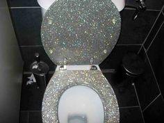 Sparkly Toilet!!!!