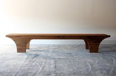 Scoop Bench by henrybuilt furniture - contemporary - benches - new york - Henrybuilt