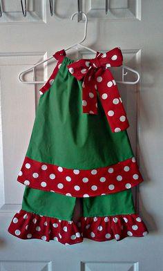 Daintee Christmas Girl von dainteedesigns on Etsy - Weihnachtskleid DIY Kids Party Wear Dresses, Girls Party Wear, Baby Girl Party Dresses, Little Girl Dresses, Baby Dress, Dress Girl, Girls Dresses, Frock Dress, Girls Christmas Outfits