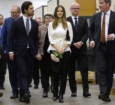 Princess Sofia and Prince Carl Philip visit Värmland