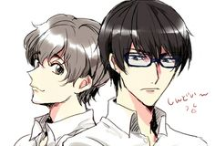 Zankyou no Terror, fan art Twelve and Nine