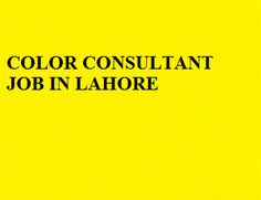 Apply at http://www.jobspumpkin.com/submit-resume.html Position: Color Consultant , Salary: 25000, Gender: Doesn't Matter, Qualification: Graduation, Experience: 3 years in paint industry, City: Lahore  .