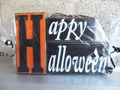Happy Halloween Craft