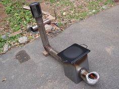 焼きそばプレートを使ったいいアイデア。一番熱くなるところに鉄板を使うことで耐久性アップ