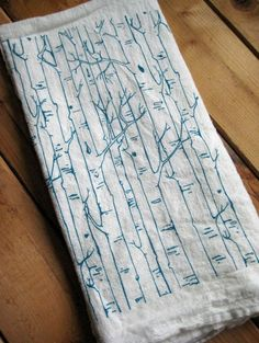 Oh Little Rabbit, Etsy. For kitchen curtains