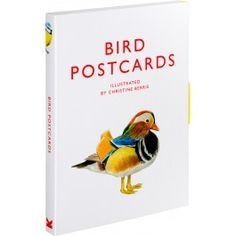 Bird Postcards Christine Berrie