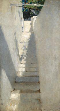 sargent john singer staircase i | genre scene | sotheby's n09503lot8zmp5en