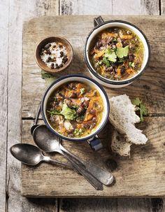 Soupe de légumes : 47 soupes de légumes d'hiver - Elle à Table