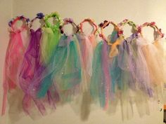 Garden Fairy Halo by QuentensSister on Etsy Fairy Birthday Party, Girl Birthday, Birthday Parties, Tulle Crafts, Fairy Crafts, Fairy Tea Parties, Fairy Princesses, Princess Party, Pixies