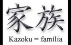 Japanese Kazoku Family Kanji Symbols For Tattoos Father Mother