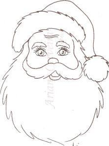 Clique para acessar o risco do Papai Noel