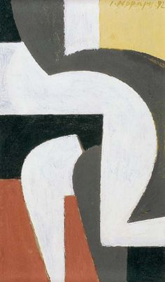 Yannis Moralis- Study for 'Erotic', 1992 Greek Paintings, Beige Art, Concrete Art, Greek Art, Geometric Art, State Art, Figure Painting, Alter, Graphic Prints