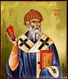 Άγιος Σπυρίδων ο Θαυματουργός, επίσκοπος Τριμυθούντος Κύπρου _ dec 12     (Agapi  en  Xristo: Μερικά από τα θαύματα του Αγίου Σπυρίδωνα