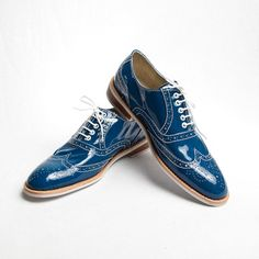 Oxford Shoes Men's Blue now featured on Fab.